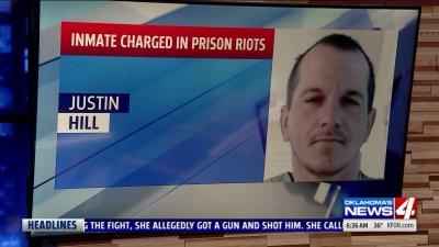 Oklahoma Inmate Facing Charges in Connection to Coordinated Prison Riots