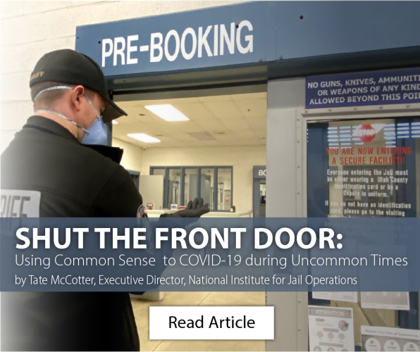 Expert Article: SHUT THE FRONT DOOR: Using Common Sense to COVID-19