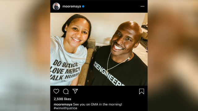 Missouri Man Freed from Prison With Help of WNBA Star Maya Moore