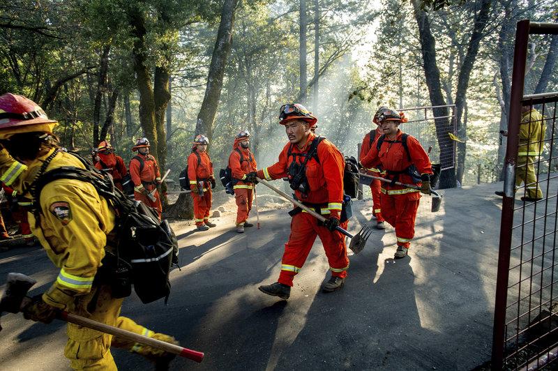 Coronavirus Pandemic Sidelines California's Inmate Firefighters