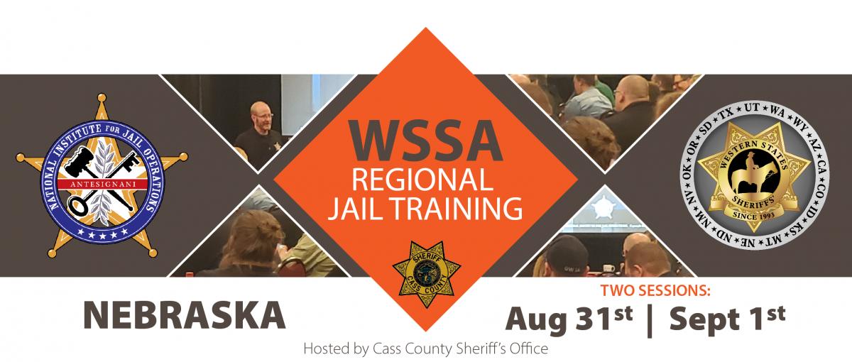 NIJO WSSA Regional Jail Training Nebraska