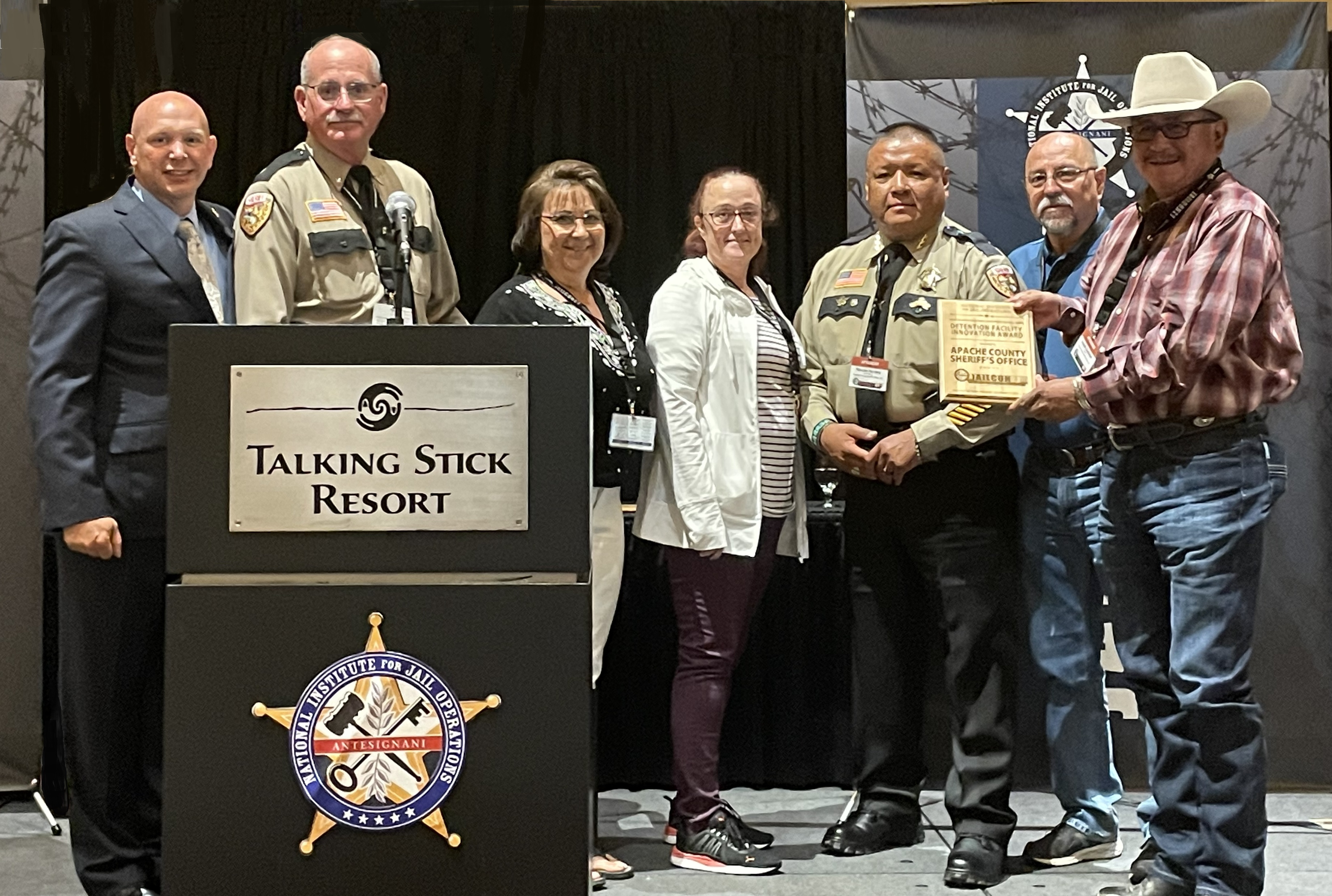 Detention Facility of the Year Award - Apache County Sheriff's Office