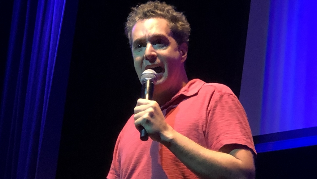 Comedian Eric O'Shea performs at JAILCON21 Western Regional Conference