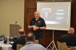 Corrections Expert Gary W. DeLand Training at JAILCON21 Southern Regional Corrections Training Conference