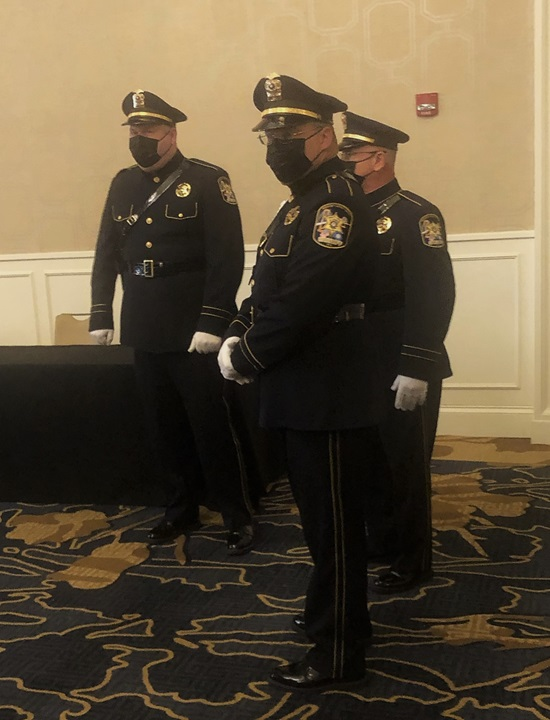 St. Charles Parish Sheriff's Office Honor Guard at JAILCON21 Southern Regional Conference