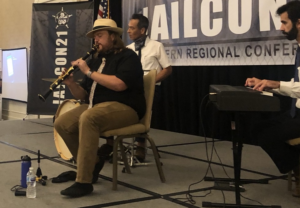 Jazz Band performs at Welcome Reception during JAILCON21 Southern Regional Corrections Training Conference